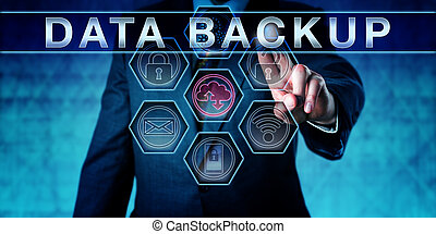 Business Manager Pushing DATA BACKUP - Business manager...