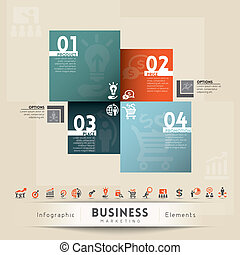 Business Marketing Concept Graphic Element