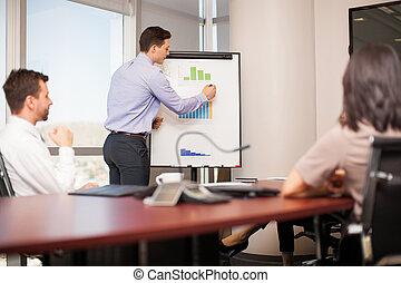 Business meeting in progress