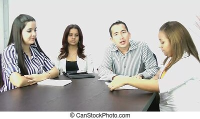 Business meeting; video conference