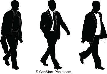 business men 2 - vector