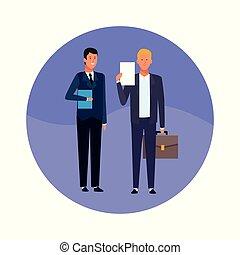 business men teamwork