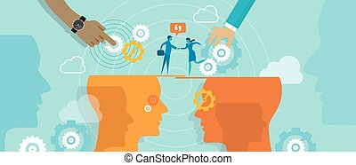 business merger partnership teamwork people cooperation...