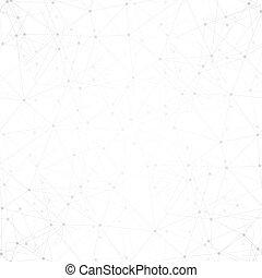 business, molécule, pattern., seamless, webdesign, fond, vecteur, conception, illustration, gabarit, science, structure