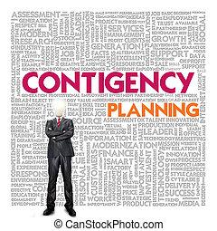 business, mot, nuage, pour, concept affaires, business, continuité
