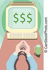 business motivation work for dollars