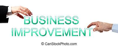 business, mots, amélioration