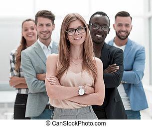 business národ, kamera, multi- etnický, úsměv zdařilý