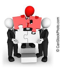 business národ, pojem, kolektivní práce, malý, 3