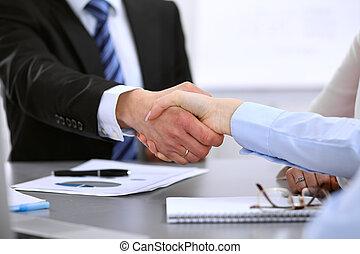 business národ, ruce, otřes, up, dohotovení, setkání