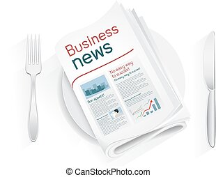 business news tablewares