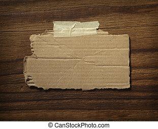 business, noter papier, mur bois