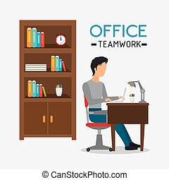 Business office and human