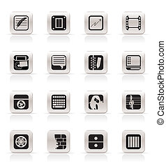 Business, Office icons
