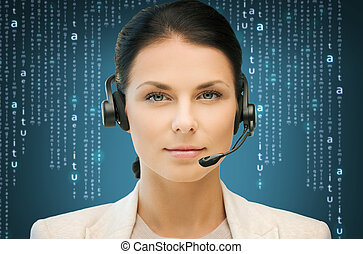 helpline - business, office, technology, future concept - ...