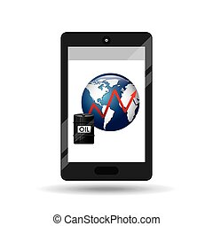 business oil smartphone global increase price