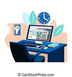 business online meeting