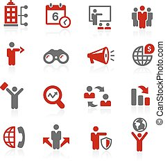 Business Opportunities // Redico - Vector icons for your...