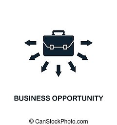 Business Opportunity icon. Creative element design from business strategy icons collection. Pixel perfect Business Opportunity icon for web design, apps, software, print usage