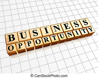 business opportunity in golden cubes