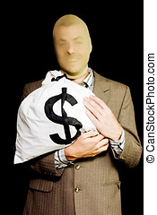 Business or white-collar thief