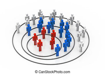 Business organisation concept