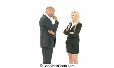 Business Partner have an argument