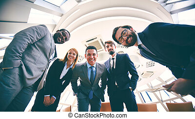 Business partners - Group of successful business people in...