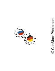 Business partnership concept - Partnership concept. Russia ...