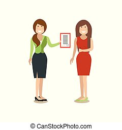 Business people concept vector illustration in flat style