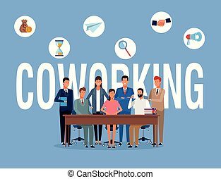 business people coworking