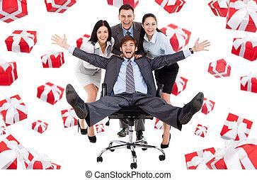 Business people creative design