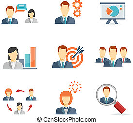 Business people for Web and Mobile App