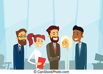 Business People Group Diverse Team Businesspeople