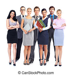 Business people group.