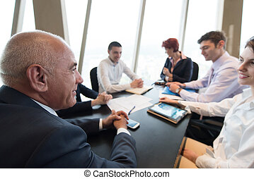 business people group on meeting - startup business people...