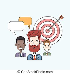 Business People Group Teamwork Success Concept