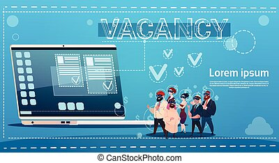 Business People Group Vacancy Search Online Employee Position Human Resources Recruitment