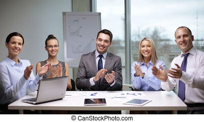 business people having a meeting - office and teamwork...