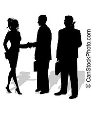 Business People - Meeting between business partners