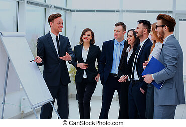 Business People Meeting Communication Discussion Working Office Concept.