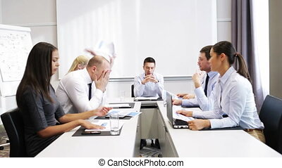 business people meeting in office
