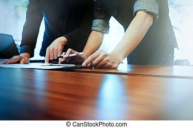 Business people meeting  teamwork idea concept.