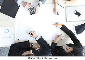 Business people on meeting