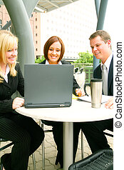 Business People Outdoor