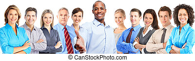 Business people team. - Group of business people team....