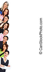 Business people team. - Group of business woman. Business...
