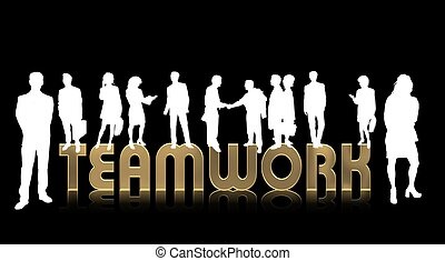 business people - teamwork