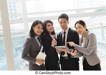 business people work together