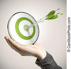 business, performance, compétence, concept